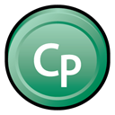 adobe, Cs, Captivate DarkSeaGreen icon
