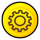works, Norton, system Gold icon