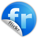 flickr, sticker DodgerBlue icon