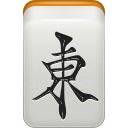 mahjong, wind, east LightGray icon
