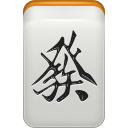 green, Dragon, mahjong LightGray icon