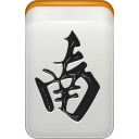 wind, south, mahjong LightGray icon