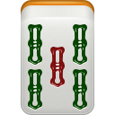 mahjong, Bamboo LightGray icon