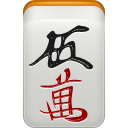 Man, mahjong LightGray icon