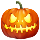 pumpkin, halloween Black icon
