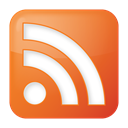 Orange, Social, feed, Rss Chocolate icon