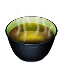 cup, tea Black icon