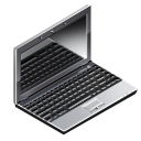 Laptop, Computer, Notebook DarkSlateGray icon