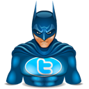 super hero, Batman, twitter, wonder woman Black icon