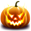 halloween, jack o lantern Black icon