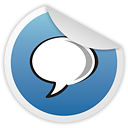 talk, google SteelBlue icon