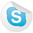 Skype Gainsboro icon