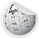 wikipedia, Wiki Gainsboro icon