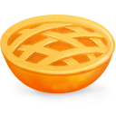 cake, food, pie SandyBrown icon