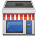 Shop, store SteelBlue icon