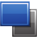 shapes, Rectangles SteelBlue icon