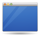 mac, Desktop, 42 SteelBlue icon