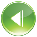 Back, green OliveDrab icon