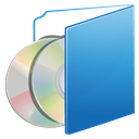 Folder, cds SteelBlue icon