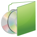 Folder, green, cds DarkKhaki icon