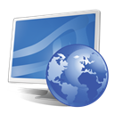 monitor, screen, Browse, internet SteelBlue icon