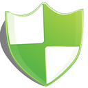 Protection, shield, green YellowGreen icon