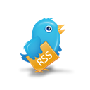 bird, Rss, twitter Black icon