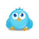 bird, twitter Black icon