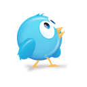 twitter, 6, bird Black icon