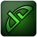 Deviantart DarkGreen icon