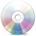 Cd, disc, Dvd Black icon