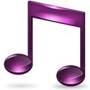 itunes, music Black icon