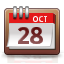 week, Calendar, Month, date LightGray icon