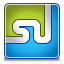 Stumbleupon DodgerBlue icon