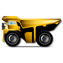 Car, Dumper Black icon