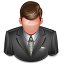 Client, Business, professional, user, Clients, Business man DarkSlateGray icon