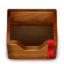 Box, wooden SaddleBrown icon