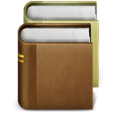learn, school, study, Books SaddleBrown icon