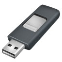 Dongle, Disk, Usb Black icon