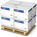 warehouse, palet, Shipping, shipment, Products, Goods Gainsboro icon