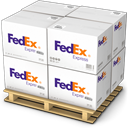 Shipping, Products, warehouse, Goods, shipment, Boxes, fedex, palet Gainsboro icon
