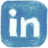 pencil, Linkedin SteelBlue icon