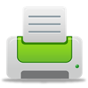 green, printer LightGray icon