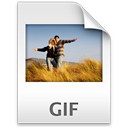 Gif, Animated Gainsboro icon