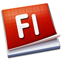 adobe, Flash Black icon
