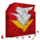 Flashget, destroy Firebrick icon
