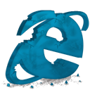 Ie, internet explorer, destroy DarkCyan icon