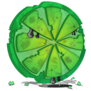 destroy, Limewire ForestGreen icon