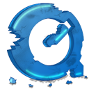 Qt, destroy SteelBlue icon