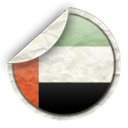 uae, emirates Black icon